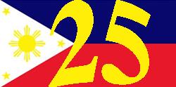 25 anos de serviço nas Filipinas